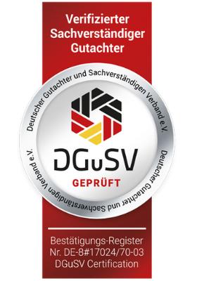 PLP Planungsbüro DGuSV-Siegel
